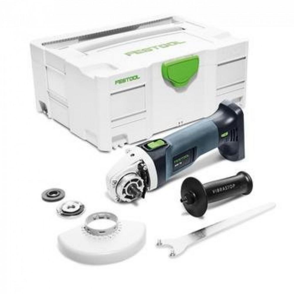 Festool Акумуляторна кутова шліфувальна машинка AGC 18-125 Li EB-Basic 575343