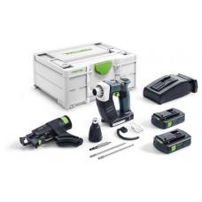 Festool Аккумуляторный строительный шуруповёрт DWC 18-2500 C 3,1-Plus DURADRIVE 576500