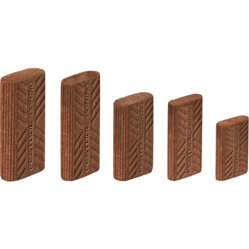 Festool Вставний шип DOMINO, древесина Sipo D 6x40/190 MAU 494870