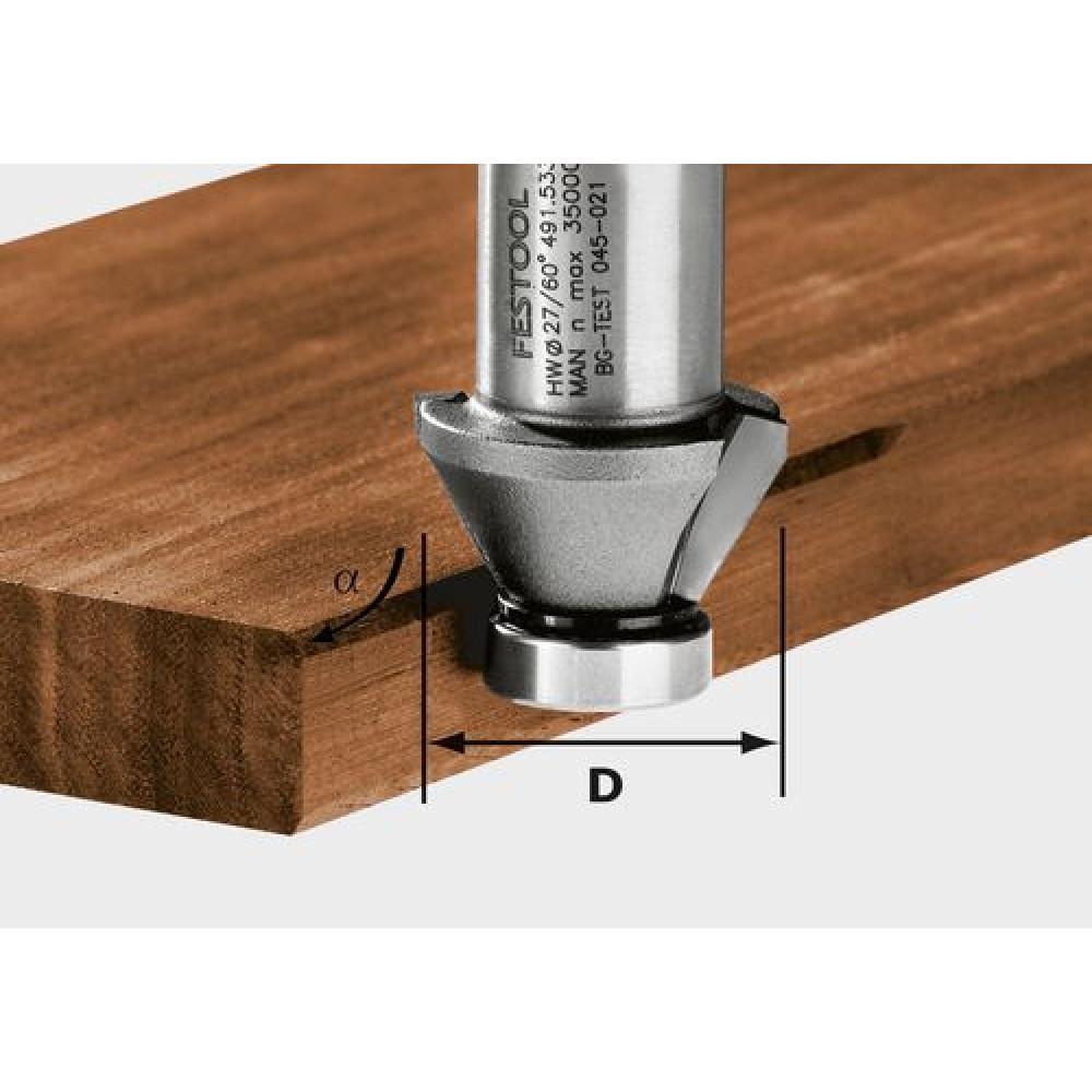 Festool Фреза для зняття фаски HW 45°-OFK 500 490090