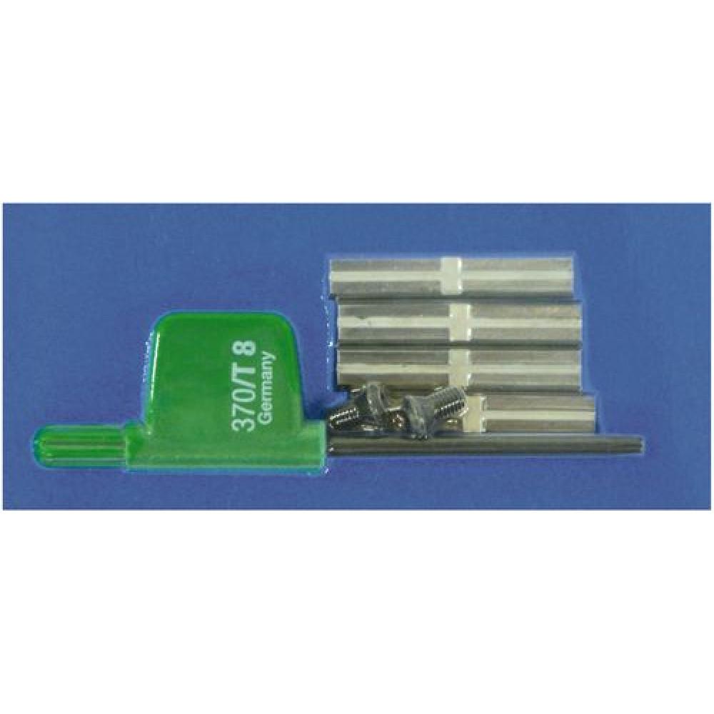 Festool Комплект змінних ножів HW-WP 30x5,5x1,1 (4x) 491388