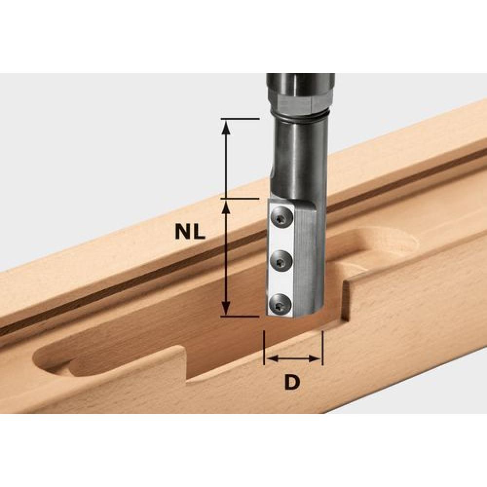 Festool Фреза пазова со змінними ножами HW KN D24/50 WP/K 497456