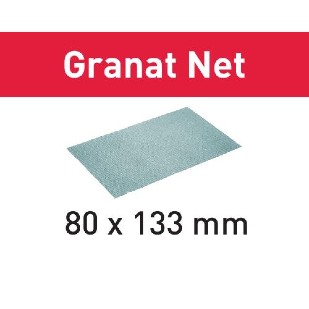 Festool Шліфувальний матеріал на сітчастій основі STF 80x133 P240 GR NET/50 Granat Net 203291