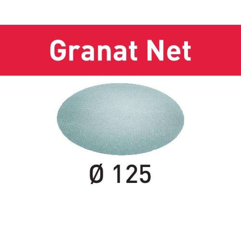 Festool Шліфувальний матеріал на сітчастій основі STF D125 P220 GR NET/50 Granat Net 203299
