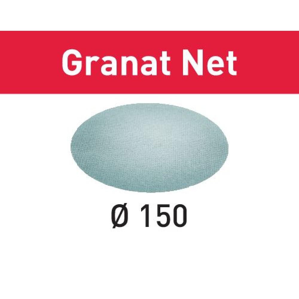Festool Шліфувальний матеріал на сітчастій основі STF D150 P400 GR NET/50 Granat Net 203311