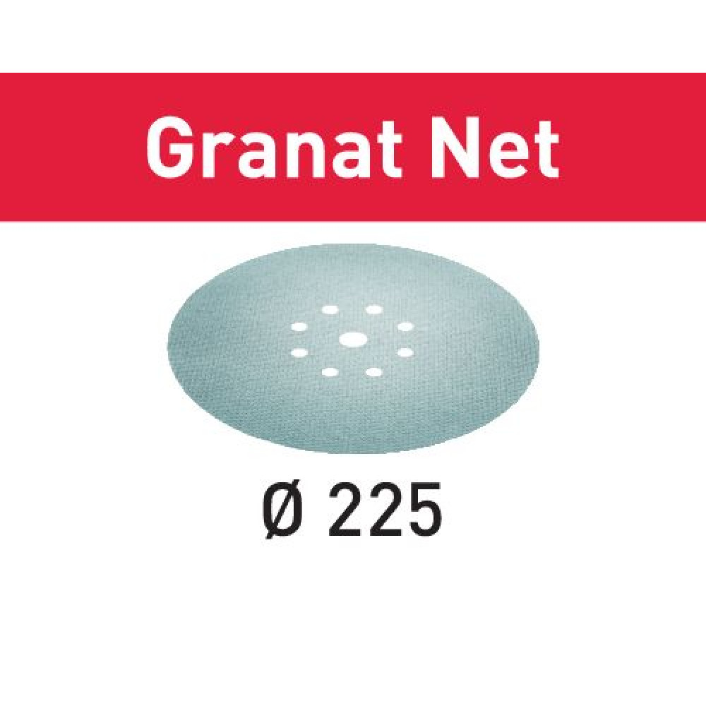 Festool Шліфувальний матеріал на сітчастій основі STF D225 P240 GR NET/25 Granat Net 203318