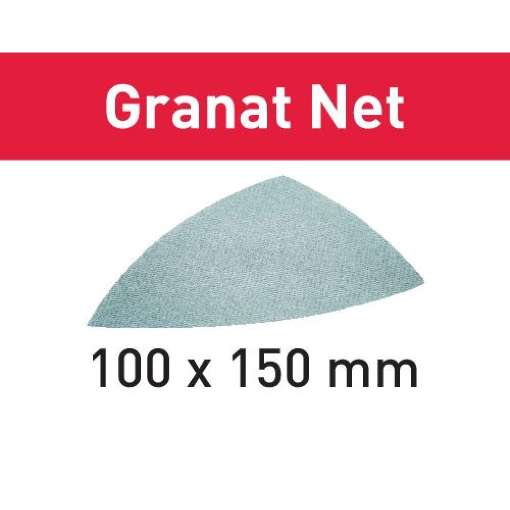 Festool Шліфувальний матеріал на сітчастій основі STF DELTA P220 GR NET/50 Granat Net 203325