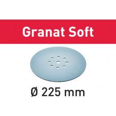 Festool Шлифовальные круги STF D225 P100 GR S/25 Granat Soft 204222