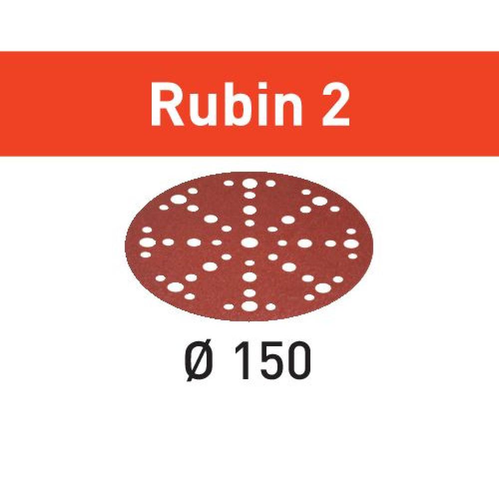 Festool Шліфувальні круги STF D150/48 P60 RU2/50 Rubin 2 575187