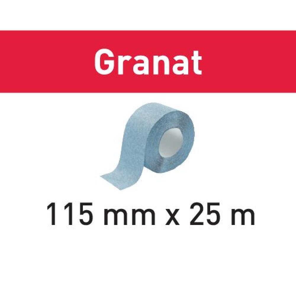 Festool Шліфувальний матеріал StickFix в рулоні 115x25m P100 GR Granat 201106