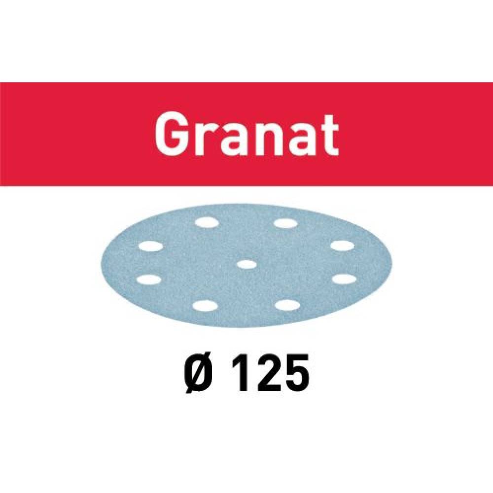 Festool Шліфувальні круги STF D125/8 P150 GR/100 Granat 497170