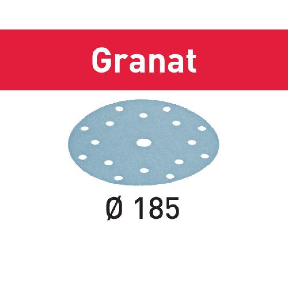 Festool Шліфувальні круги STF D185/16 P60 GR/50 Granat 497184