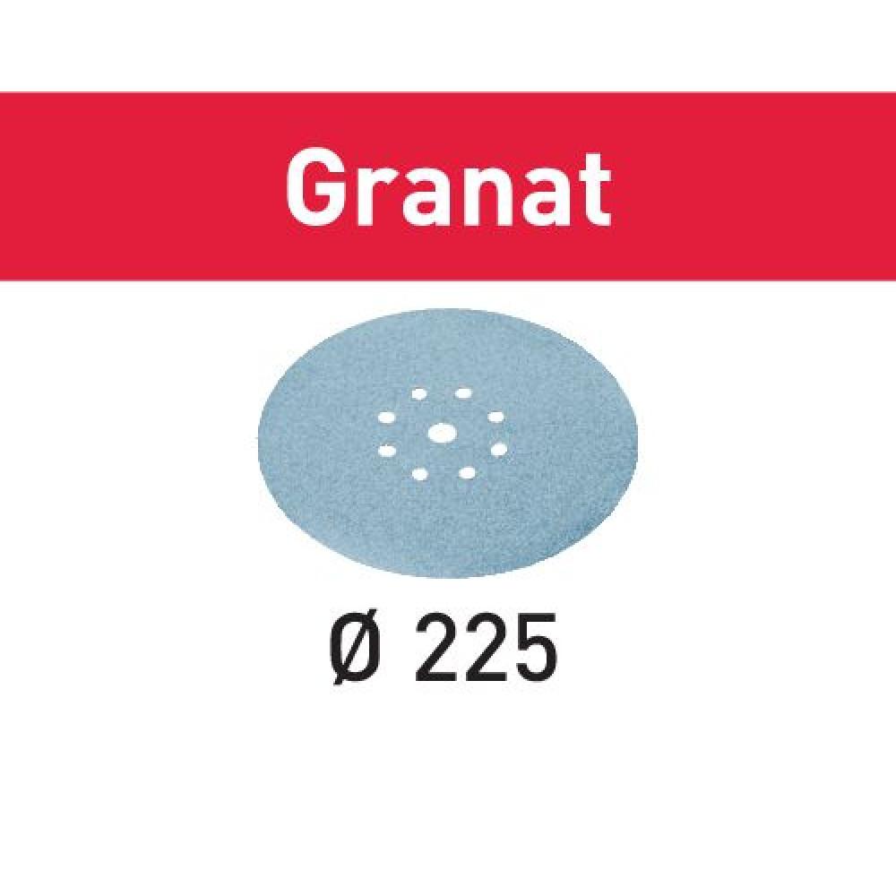 Festool Шліфувальні круги STF D225/8 P320 GR/25 Granat 499643