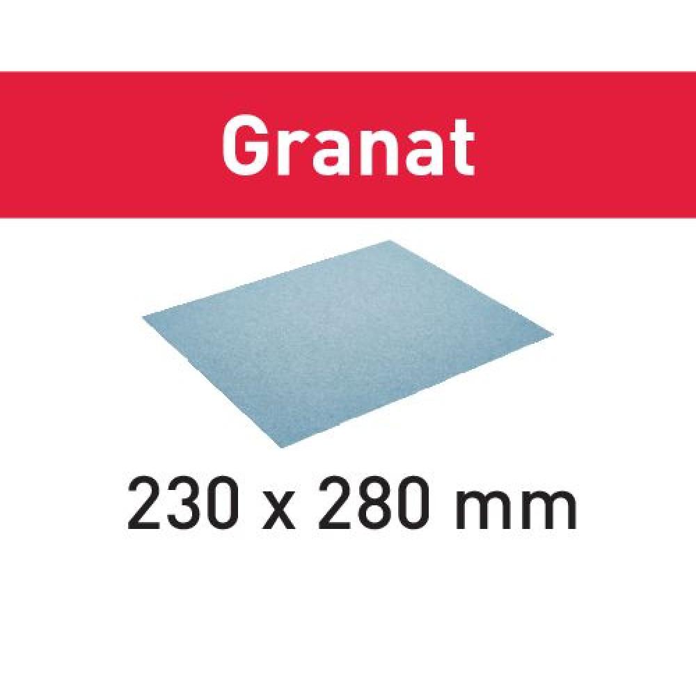 Festool Бумага Шліфувальна 230x280 P40 GR/10 Granat 201256