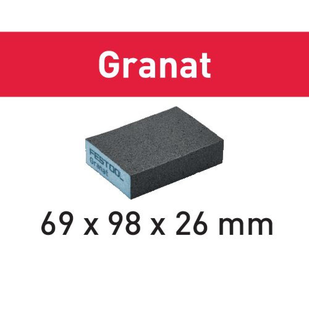 Festool Шліфувальна губка 69x98x26 220 GR/6 Granat 201083