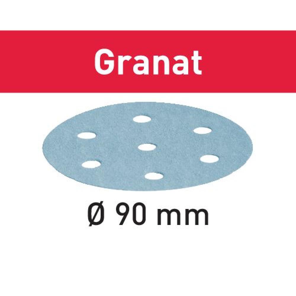 Festool Шліфувальні круги STF D90/6 P1200 GR/50 Granat 498329