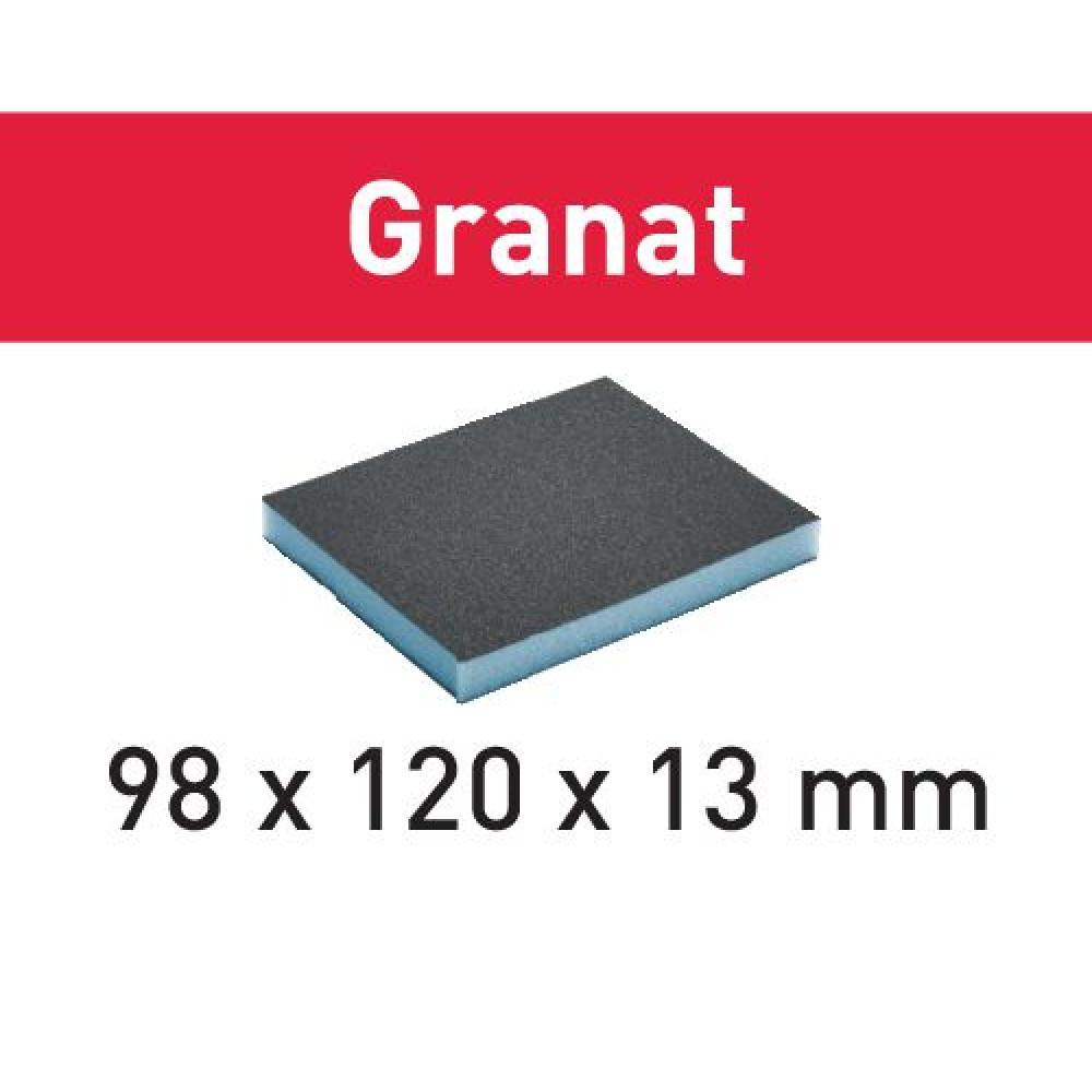 Festool Губка Шліфувальна 98x120x13 800 GR/6 Granat 201507