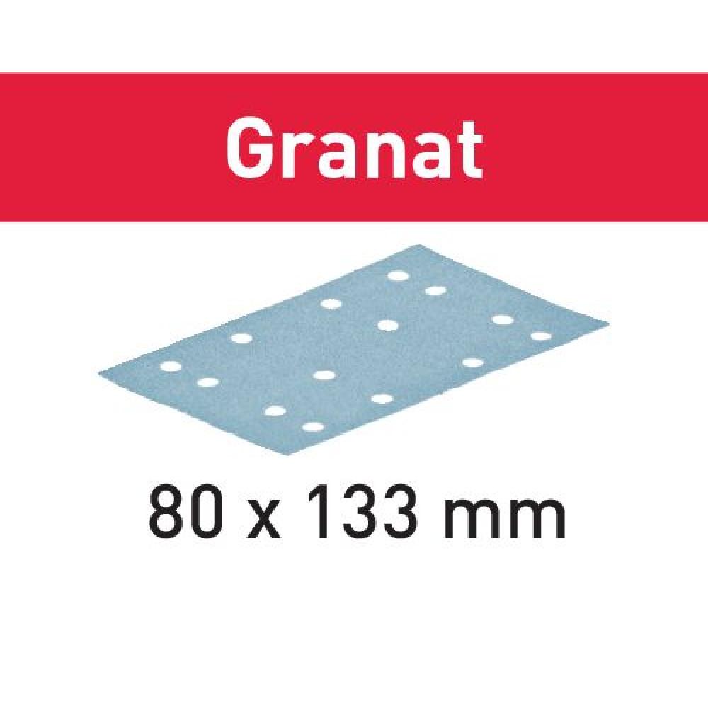 Festool Шліфувальні листи STF 80x133 P240 GR/100 Granat 497124