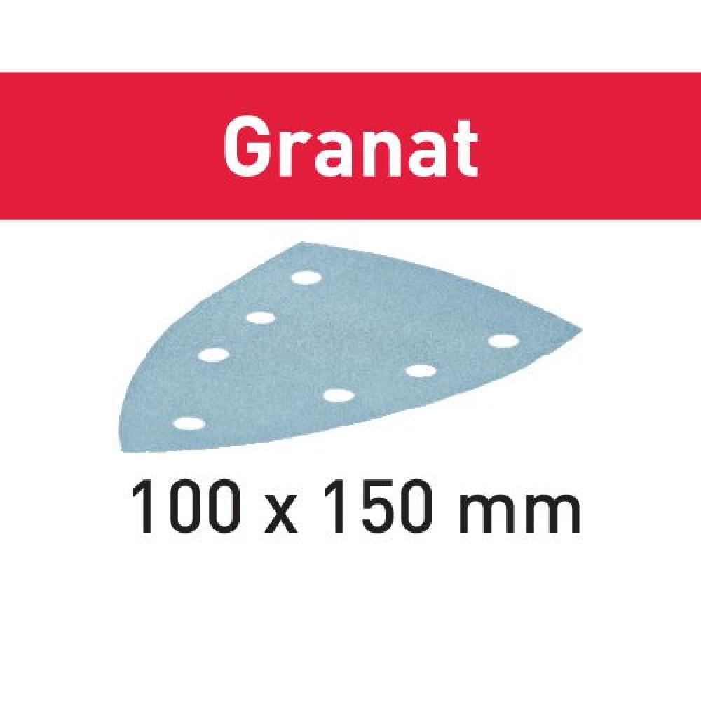 Festool Шліфувальний лист STF DELTA/7 P180 GR/10 Granat 497134