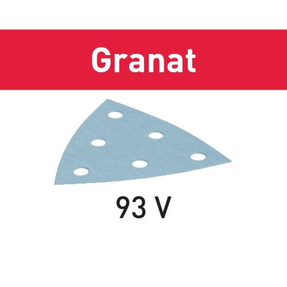Festool Шліфувальний лист STF V93/6 P80 GR/50 Granat 497392
