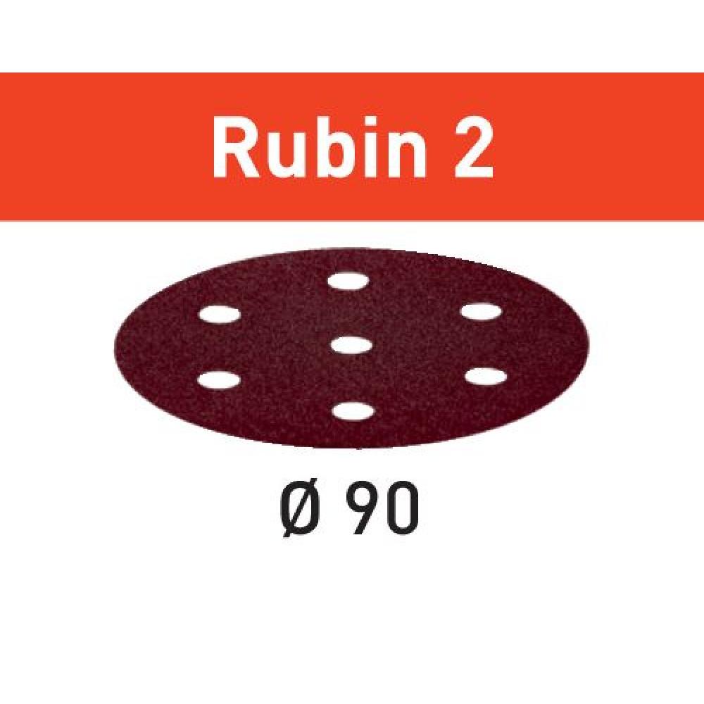Festool Шліфувальні круги STF D90/6 P180 RU2/50 Rubin 2 499083