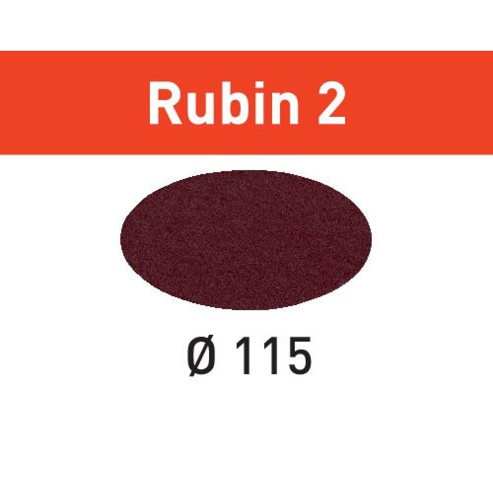 Festool Шліфувальні круги STF D115 P120 RU2/50 Rubin 2 499089