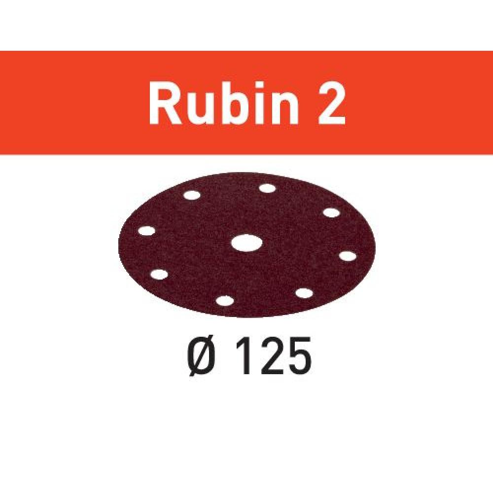 Festool Шліфувальні круги STF D125/8 P60 RU2/50 Rubin 2 499094