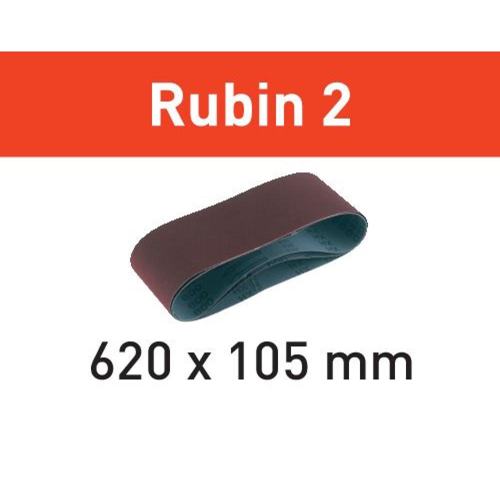 Festool Шліфувальна лента L620X105-P60 RU2/10 Rubin 2 499150