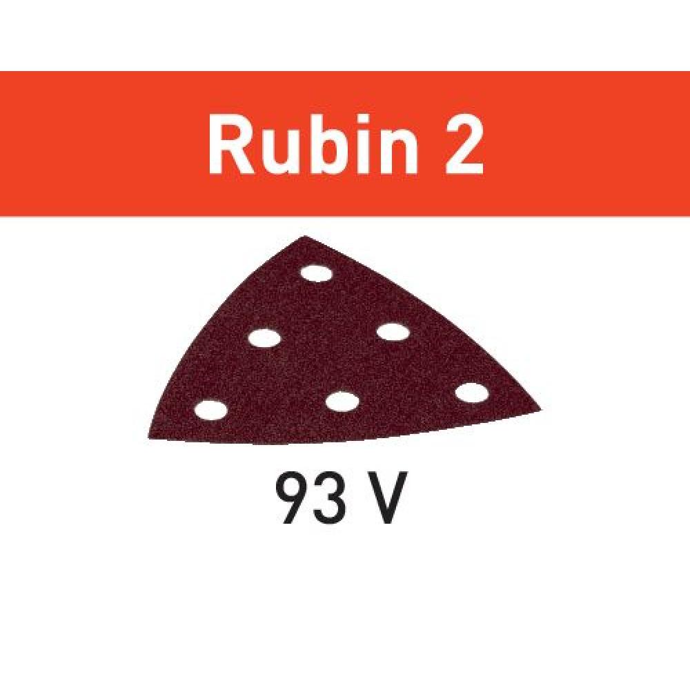 Festool Шліфувальний лист STF V93/6 P180 RU2/50 Rubin 2 499167