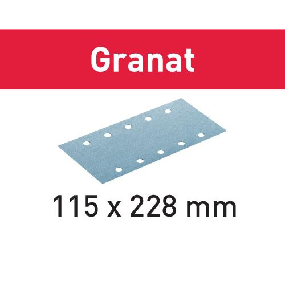 Festool Шліфувальні листи STF 115X228 P60 GR/50 Granat 498945